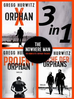 cover image of The Nowhere Man--Die komplette Orphan-Trilogie