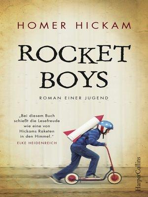cover image of Rocket Boys--Roman einer Jugend