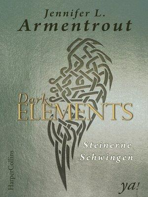 cover image of Dark Elements 1—Steinerne Schwingen
