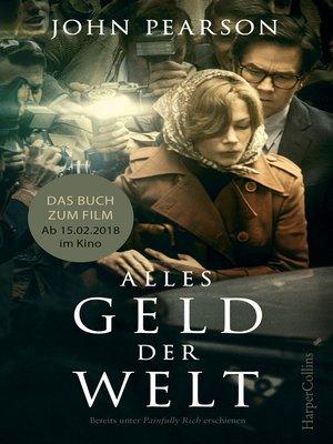 cover image of Alles Geld der Welt