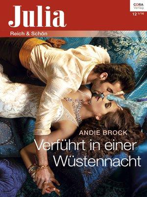 cover image of Verführt in einer Wüstennacht