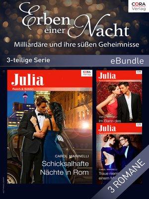 cover image of Erben einer Nacht--Milliardäre und ihre süßen Geheimnisse (3-teilige Serie)