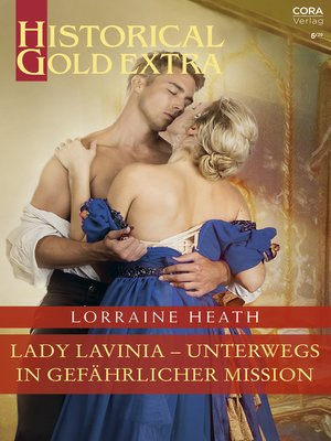 cover image of Lady Lavinia--unterwegs in gefährlicher Mission