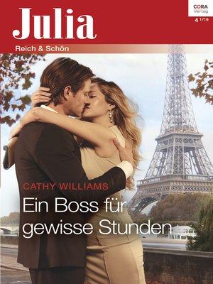 cover image of Ein Boss für gewisse Stunden