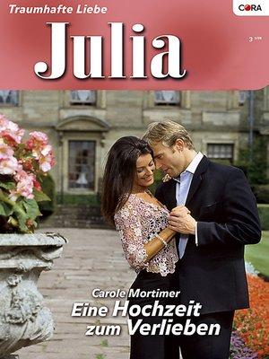 cover image of Eine Hochzeit zum Verlieben