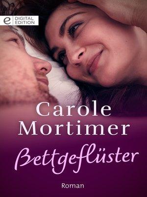 cover image of Bettgeflüster