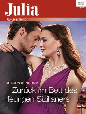 cover image of Zurück im Bett des feurigen Sizilianers