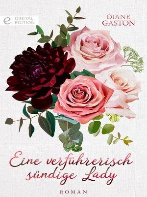 cover image of Eine verführerisch sündige Lady