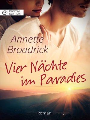 cover image of Vier Nächte im Paradies