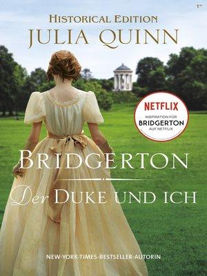 cover image of Bridgerton--Der Duke und ich