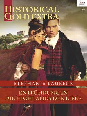 cover image of Entführung in die Highlands der Liebe