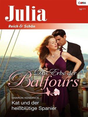 cover image of Kat und der heißblütige Spanier