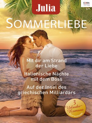 cover image of Julia Sommerliebe Band 29