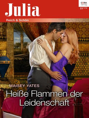 cover image of Heiße Flammen der Leidenschaft