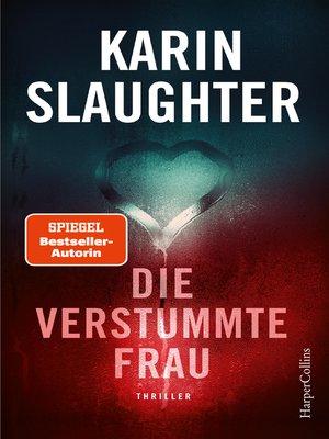cover image of Die verstummte Frau