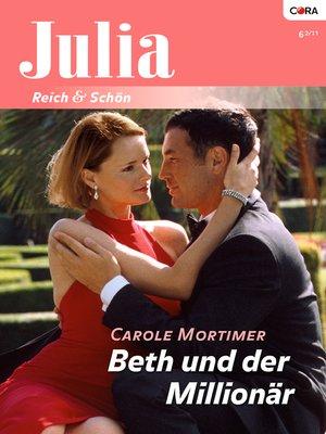 cover image of Beth und der Millionär
