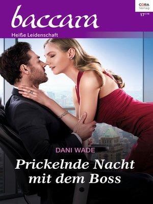 cover image of Prickelnde Nacht mit dem Boss