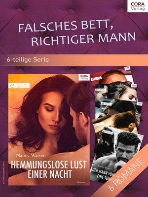 cover image of Falsches Bett, richtiger Mann