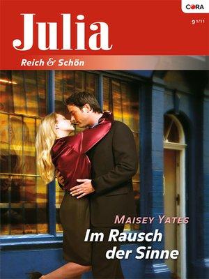 cover image of Im Rausch der Sinne