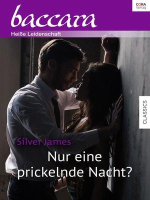 cover image of Nur eine prickelnde Nacht?