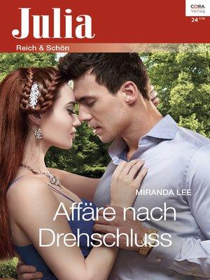 cover image of Affäre nach Drehschluss