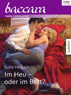 cover image of Im Heu—oder im Bett?