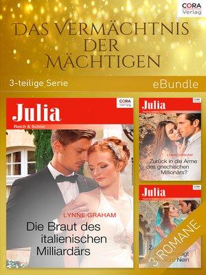 cover image of Das Vermächtnis der Mächtigen (3-teilige Serie)