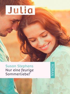 cover image of Nur eine feurige Sommerliebe?