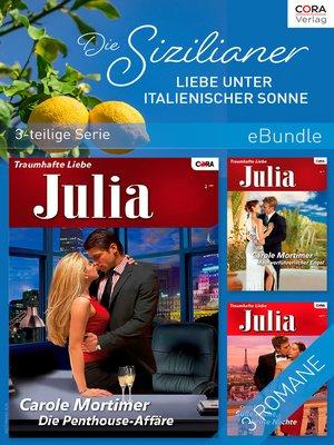 cover image of Die Sizilianer--Liebe unter italienischer Sonne (3-teilige Serie)