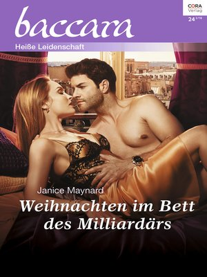 cover image of Weihnachten im Bett des Milliardärs