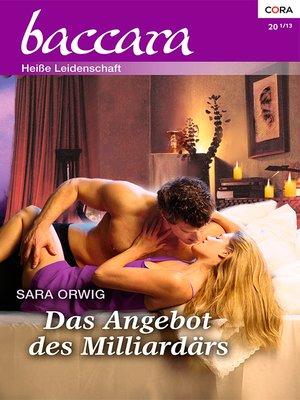 cover image of Das Angebot des Milliardärs