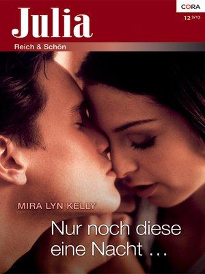 cover image of Nur noch diese eine Nacht