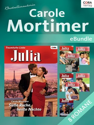 cover image of Bestsellerautorin Carole Mortimer