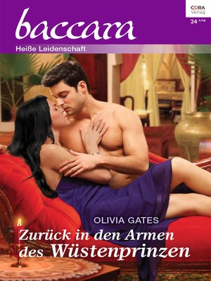 cover image of Zurück in den Armen des Wüstenprinzen