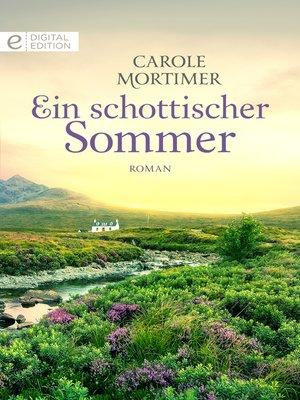cover image of Ein schottischer Sommer