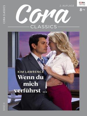 cover image of Wenn du mich verführst ...