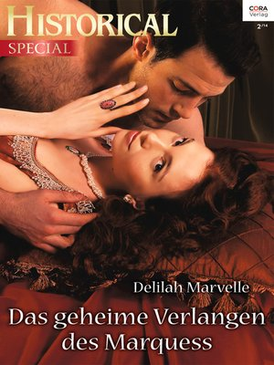 cover image of Das geheime Verlangen des Marquess