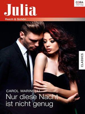 cover image of Nur diese Nacht ist nicht genug