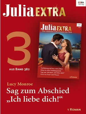 cover image of Julia Extra Band 382—Titel 3
