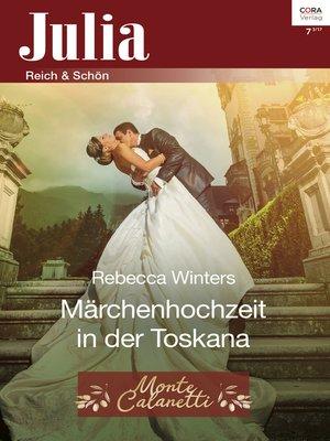 cover image of Märchenhochzeit in der Toskana