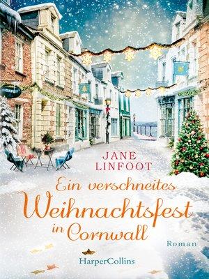 cover image of Ein verschneites Weihnachtsfest in Cornwall