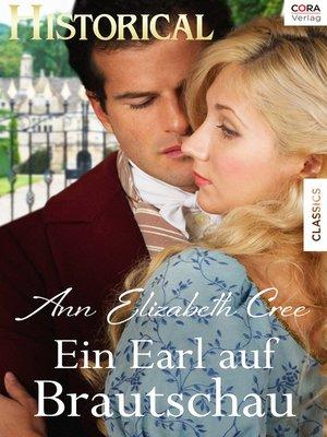 cover image of Ein Earl auf Brautschau