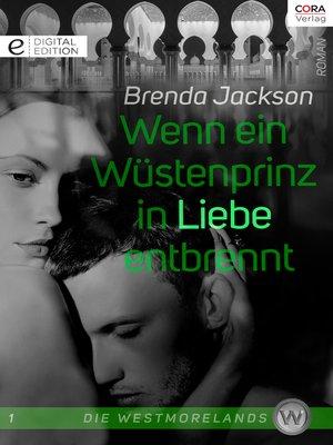 cover image of Wenn ein Wüstenprinz in Liebe entbrennt