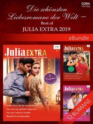 cover image of Die schönsten Liebesromane der Welt--Best of Julia Extra 2019