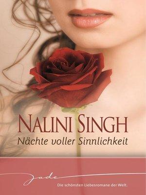 cover image of Nächte voller Sinnlichkeit