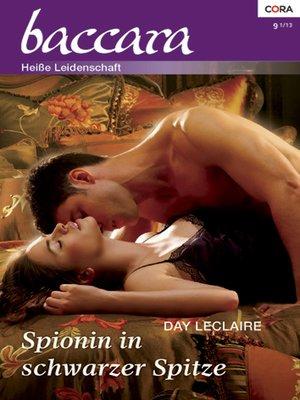 cover image of Spionin in schwarzer Spitze