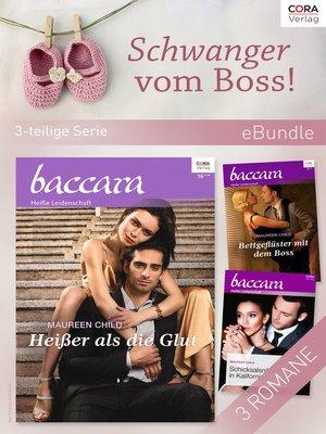 cover image of Schwanger vom Boss! (3-teilige Serie)