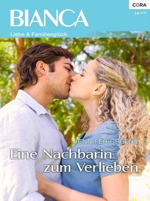 cover image of Eine Nachbarin zum Verlieben