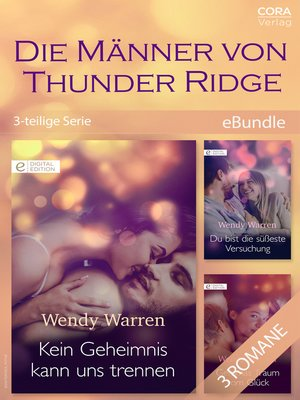 cover image of Die Männer von Thunder Ridge (3-teilige Serie)