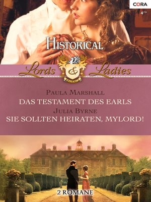cover image of Historical Lords & Ladies Band 38